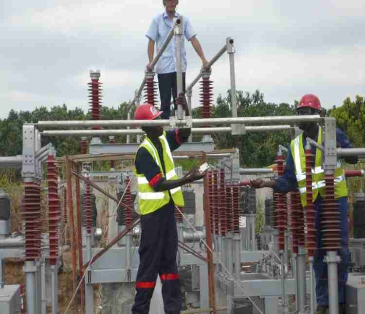 Kpong Water Works Project