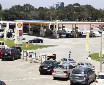 A TYPICAL SHELL SERVICE STATION AT KIA